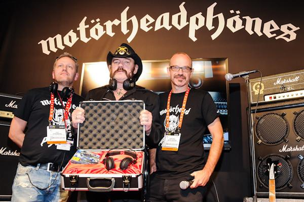 Motorhead's Lemmy Unveils 'Anti-Beats' Headphones at CES