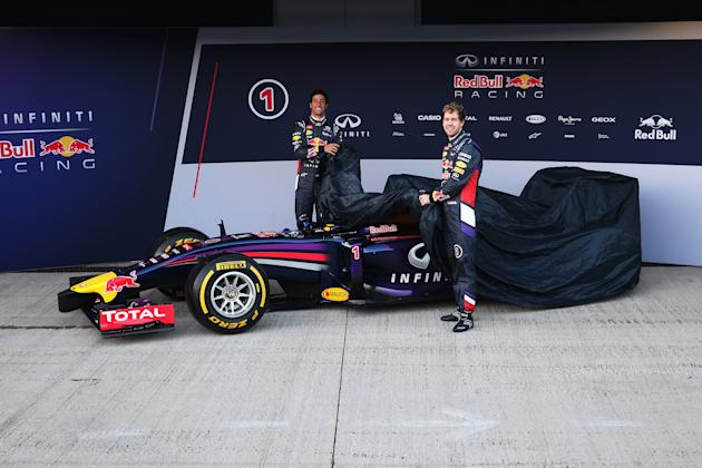 Red Bull Racing F1 Launch