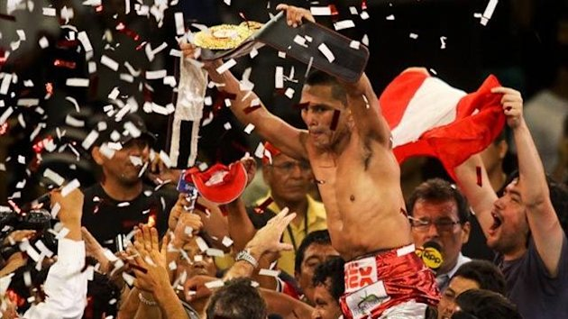 Alberto Rossel celebrates another title win in Peru (official website)