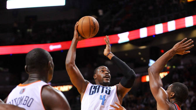 NBA: Charlotte Bobcats at Miami Heat