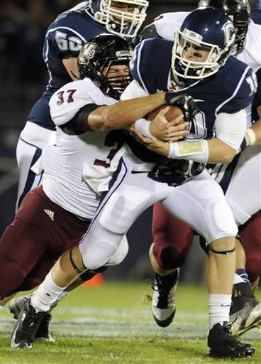 UConn beats UMass 37-0 in renewal of rivalry