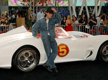 Emile Hirsch at the Los Angeles premiere of Warner Bros. Pictures' Speed Racer