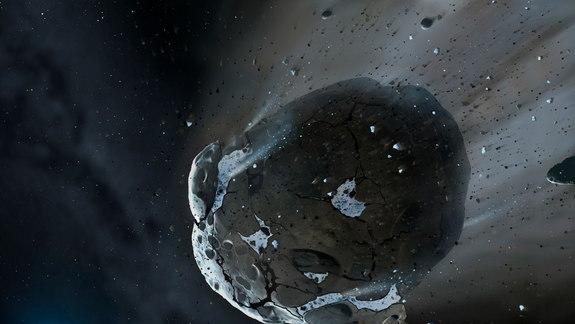 Watery Asteroid Found Around Dying Star, Potential Habitable Planet Ingredient
