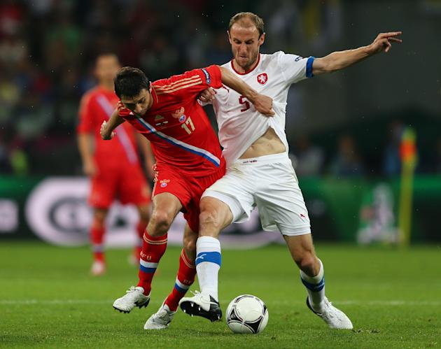 Russia v Czech Republic - Group A: UEFA EURO 2012