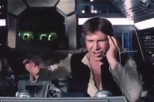 'Star Wars' Vintage Blooper Reel Surfaces Featuring Han Solo Eating a Microphone (Video)