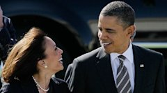 ap kamala harris mi 130405 wblog Why Obamas Best Looking Comment Failed to Ignite Furor