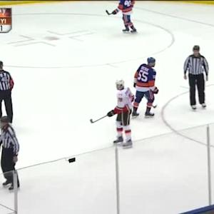 Flames at Islanders / Game Highlights