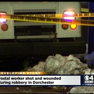 Postal Worker Shot In Boston