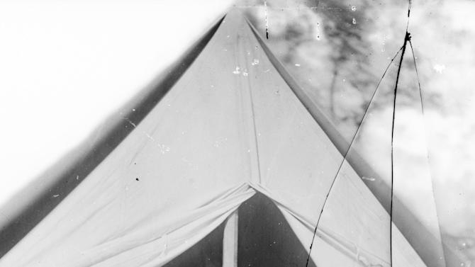 """In this 1862 photo made available by the Library of Congress, President Abraham Lincoln and Gen. George B. McClellan sit in the general's tent after the Battle of Antietam near Sharpsburg, Md. McClellan's skill in organizing and preparing troops was what made Lincoln elevate him to command, even though the president had long been frustrated by another defining trait of """"Little Mac"""" - his paralyzing deliberateness and tendency to grossly exaggerate the forces he faced. As a general, he was the temperamental opposite of Gen. Robert E. Lee. (AP Photo/Library of Congress, Alexander Gardner)"""