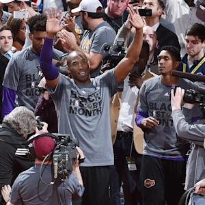 Kobe Bryant played his last game against the Cavaliers and received quite the farewell from Cleveland