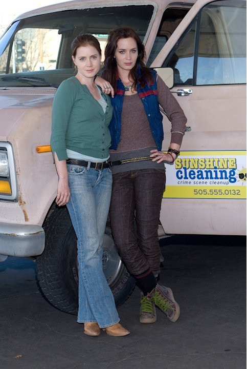 Sunshine Cleaning Production Stills 2009 Overture Films Amy Adams Emily Blunt