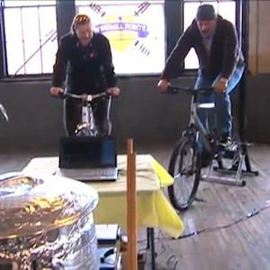 Brewing Beer by Riding a Bike?