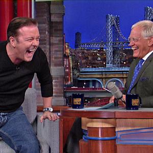 David Letterman - Ricky Gervais and That Woman