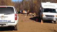 The search for a missing man near Nashwaak ended tragically.