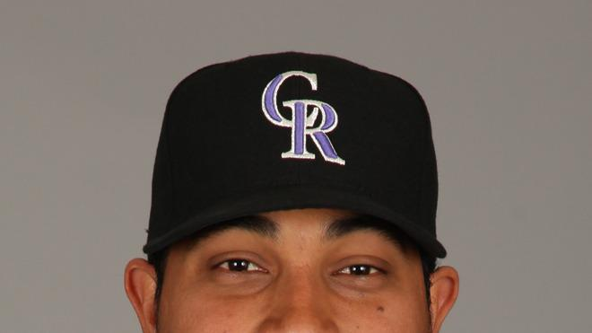Jhoulys Chacin Baseball Headshot Photo