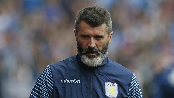 Aston Villa assistant Roy Keane, pictured on September 20, 2014, released an explosive autobiography in October and was reportedly involved in an altercation with a member of the public outside the Ireland team hotel earlier this month