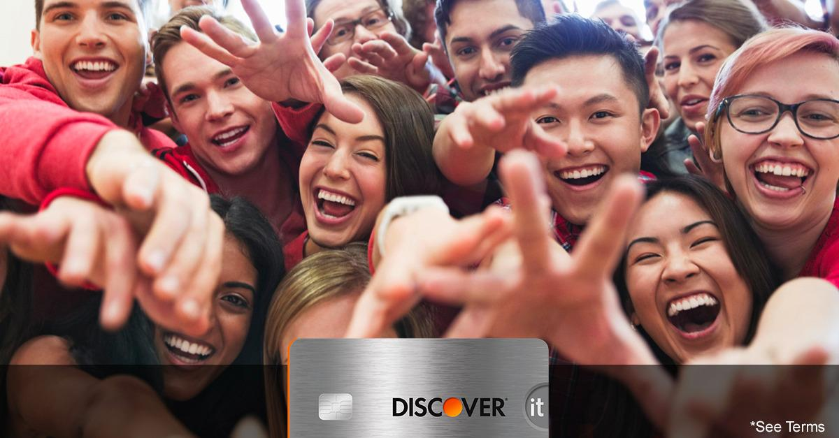 Discover® Pays Students Cash Back For Good Grades