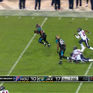 Jacksonville Jaguars running back Maurice Jones-Drew 48-yard run