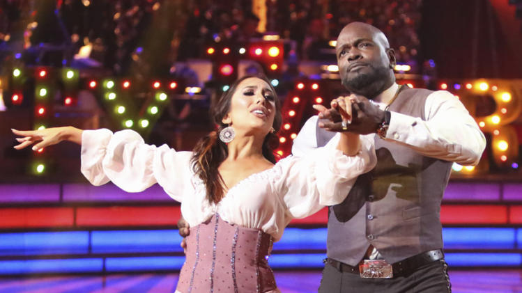 Cheryl Burke and Emmitt Smith (10/29/12)