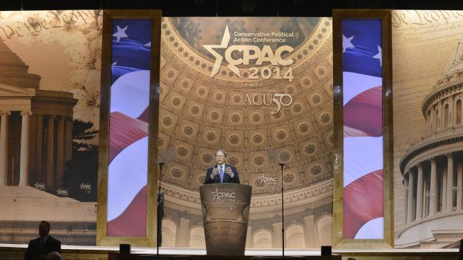 NRA's LaPierre attends Conservative Political Action Conference in Oxon Hill