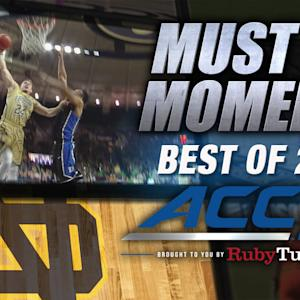 ND's Pat Connaughton Drives For Monster Jam | Best of 2014 Must See Moment