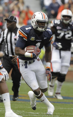 Auburn receiver D'haquille Williams. (John Reed/USA TODAY Sports)