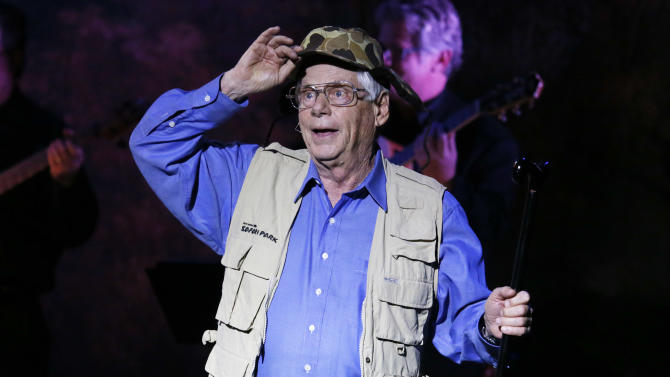 Robert Morse plays Dick Cheney at Les Girls 12 at Avalon on Monday Oct. 15, 2012, in Los Angeles.  (Photo by Todd Williamson/Invision for National Breast Cancer Coalition/AP Images)