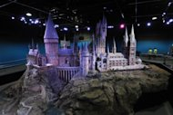 "A scale model of Hogwarts at the Warner Bros Harry Potter studio tour ""The Making of Harry Potter"" in London, March 26, 2012"