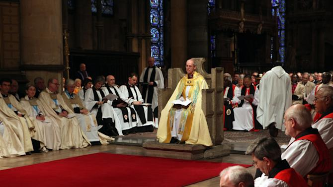 The Enthronement Of The 105th Archbishop Of Canterbury Justin Welby