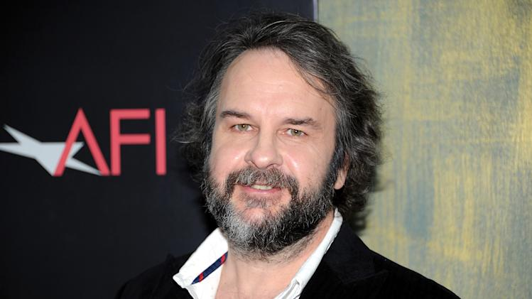 "Writer and director Peter Jackson attends the premiere of ""The Hobbit: An Unexpected Journey"" at the Ziegfeld Theatre on Thursday Dec. 6, 2012 in New York. (Photo by Evan Agostini/Invision/AP)"