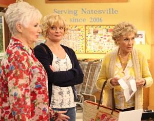 Exclusive Raising Hope Video: Cloris Leachman & Shirley Jones Reconnect for Burt's Bar Mitzvah