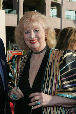 """This June 26, 2004 photo provided by The Academy of Television Arts & Sciences shows actress Sheila MacRae arriving at the 16th Hall of Fame induction ceremony in Los Angeles.  The veteran stage, film and TV performer, MacRae, best known for playing Alice Kramden in the 1960s re-creation of """"The Honeymooners"""" has died. MacRae's granddaughter, Allison Mullavey, on Friday, March 7, 2014, told The Associated Press that the actress died at age, 92, Thursday, at the Lillian Booth Actors Home in Englewood, New Jersey.  (AP Photo/Academy of Television Arts & Sciences, Mathew Imaging/Filmmagic)"""