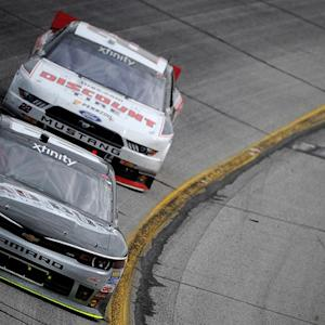 Harvick, Logano battle it out in Atlanta
