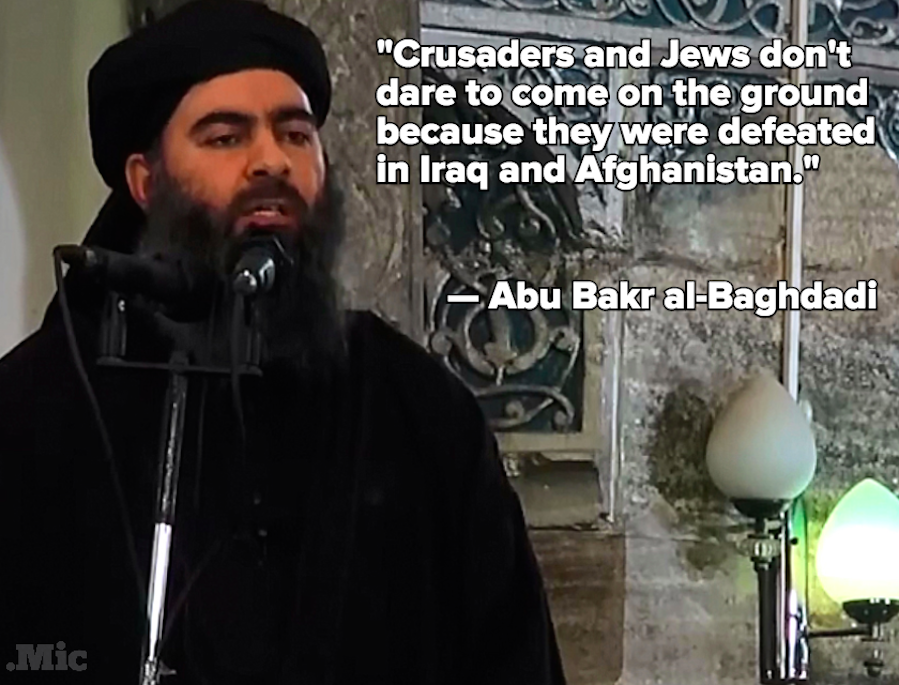 ISIS Leader Al-Baghdadi Releases Message As Challenges Multiply
