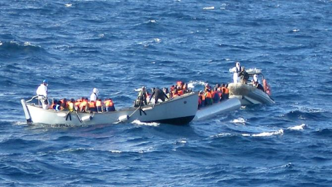 More than 3,500 people have died in the past year attempting to reach Italy by boat from North Africa, according to the the UN refugee agency