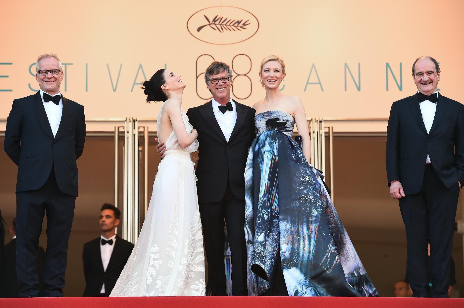 Cannes readies Palme d'Or closing ceremony