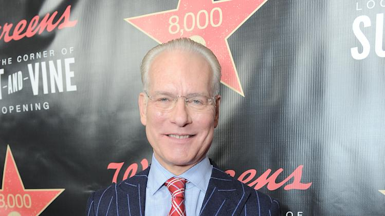 Tim Gunn attends Walgreens 8000th Store Opening, on Friday Nov. 30, 2012, in Los Angeles. (Photo by Jordan Strauss/Invision for Walgreens/AP Images)