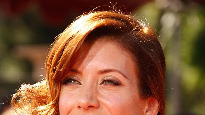 Kate Walsh arrives at the 59th Annual Primetime Emmy Awards at the Shrine Auditorium on September 16, 2007 in Los Angeles, California.