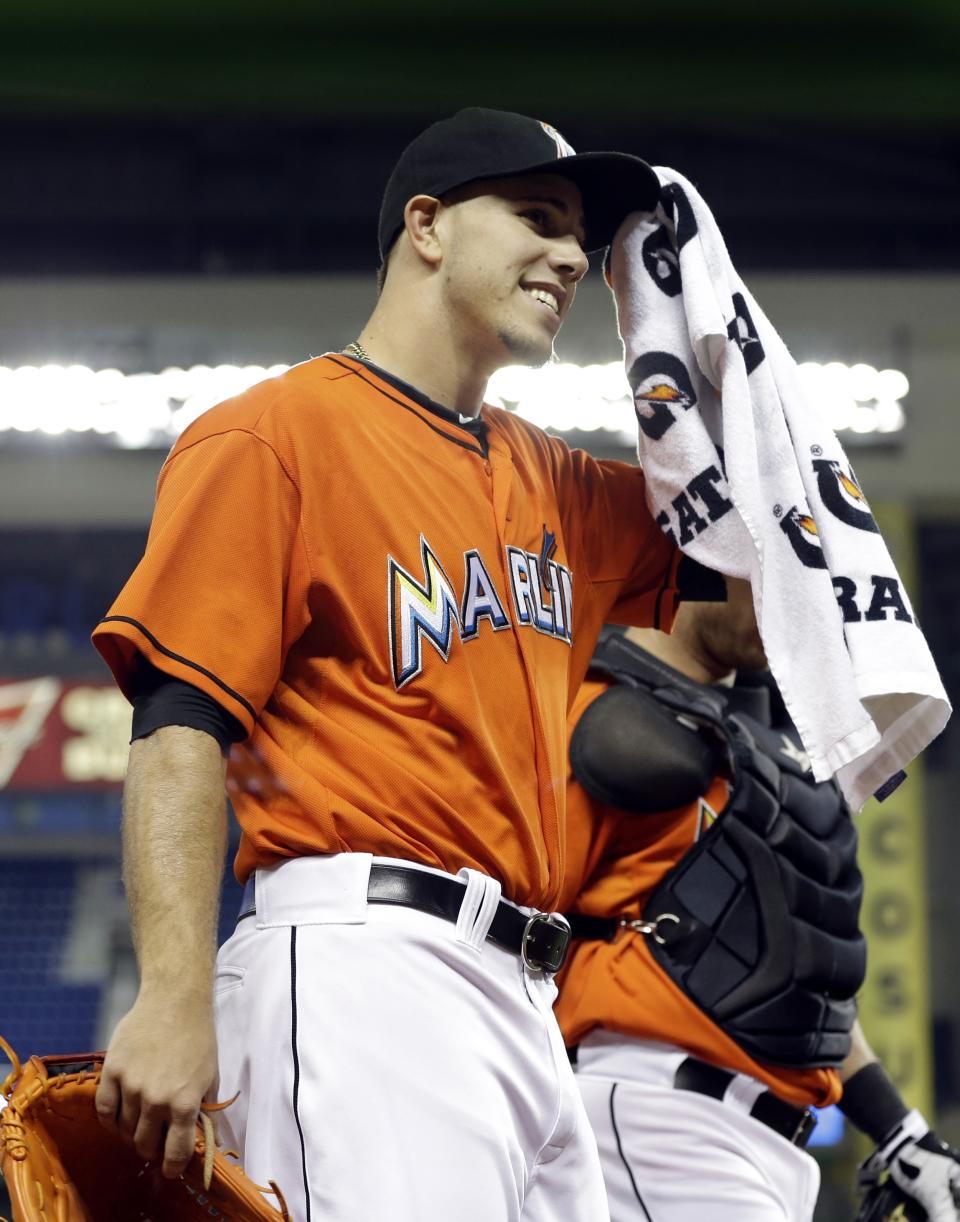 Marlins manager wants rookie to tone down behavior