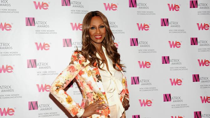 Supermodel Iman is a spokeswoman for diversity