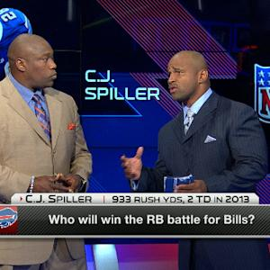 Who will win the running back battle for the Buffalo Bills?