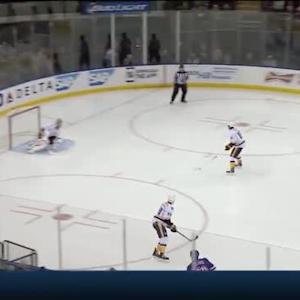 Pekka Rinne Save on Chris Kreider (00:52/3rd)