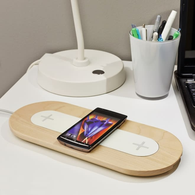 Curbed National: In Stores Soon: Ikea's Gamechanging Furniture Line with Built-In Wireless Charging