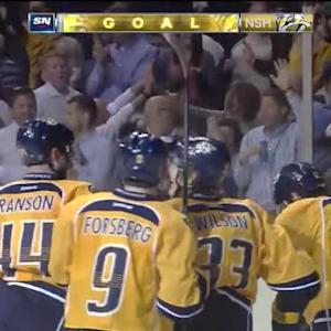 Mike Fisher Goal on Eddie Lack (14:57/3rd)
