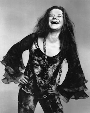 """FILE - This Oct. 1970 file photo shows rock singer Janis Joplin. Producers said Wednesday, June 26, 2013, that the musical """"A Night With Janis Joplin"""" starring Mary Bridget Davies as the singer will start previews at the Lyceum Theatre in New York on Sept. 20. (AP Photo, File)"""