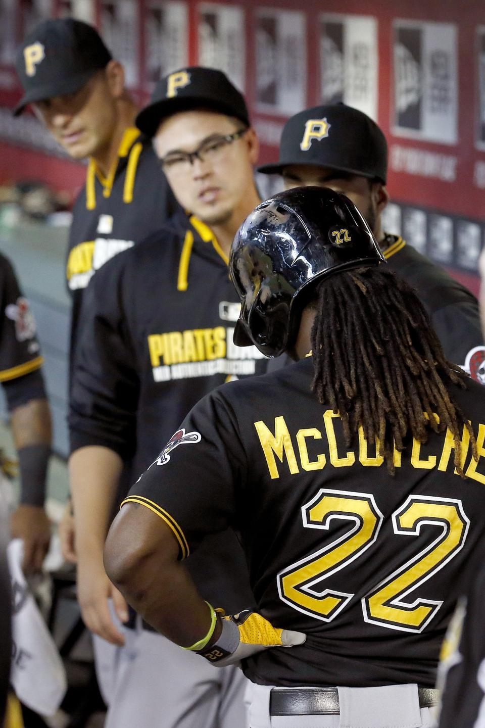 McCutchen has broken rib, hoping to avoid DL