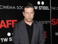 FILE - This April 16, 2012 file photo shows actor Stephen Baldwin attending the premiere of &quot;Safe&quot; hosted by Lionsgate, The Cinema Society and TW Steel at Chelsea Cinemas in New York. Baldwin was in a Manhattan court Monday to plead guilty to unlicensed driving. It&#39;s a traffic infraction, not a crime. He&#39;ll have to pay a $75 fine. (AP Photo/Evan Agostini, file)