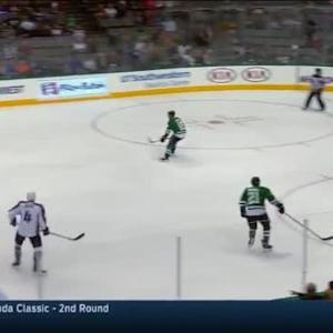 Kari Lehtonen Save on Nate Guenin (08:02/1st)