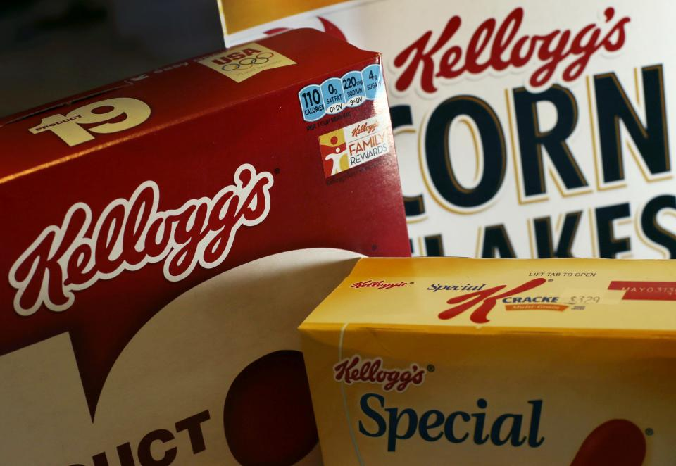 Kellogg says Pringles helped fatten profits