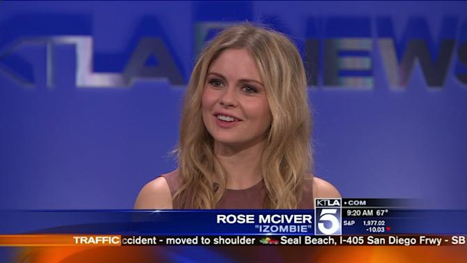 Rose McIver Gears Up for Season 2 of `iZombie`